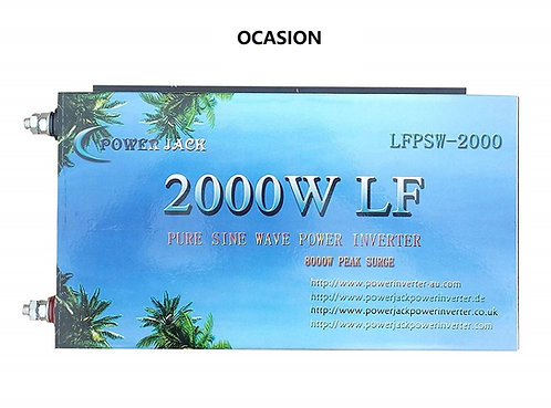 Solar inverter 2000w 12v pure wave OCCASION