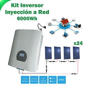 Kit Solar de Conexión a Red WccSolar