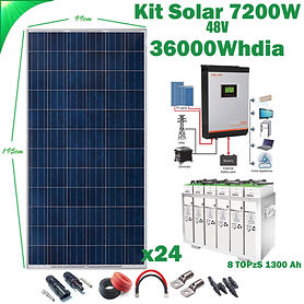 Kit Solar 48V WccSolar