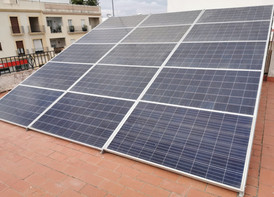 Ahorro eléctrico en los Palacios con inyección a red