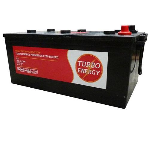 250Ah / 12V TURBO ENERGY Solarbatterie