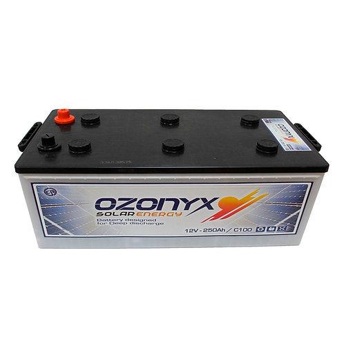 250Ah / 12V Ozonyx Solarbatterie