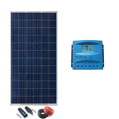 Kit Solar 24v 300w Hora Regulador 20a con LCD