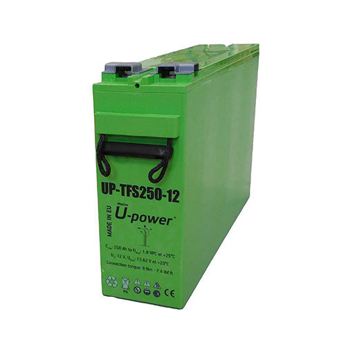 AGM 250h / 12v solar battery U-POWER TFS-250