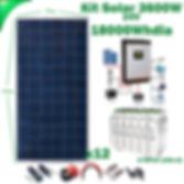 Kit Solar 24V WccSolar