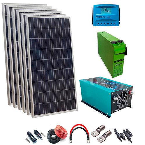 Solar Kit 12v 900w Inverter Hour 3000w