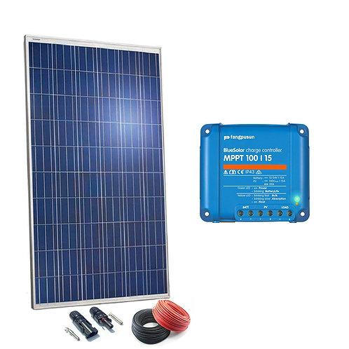 Solar Kit 250W Regler MPPT 15a