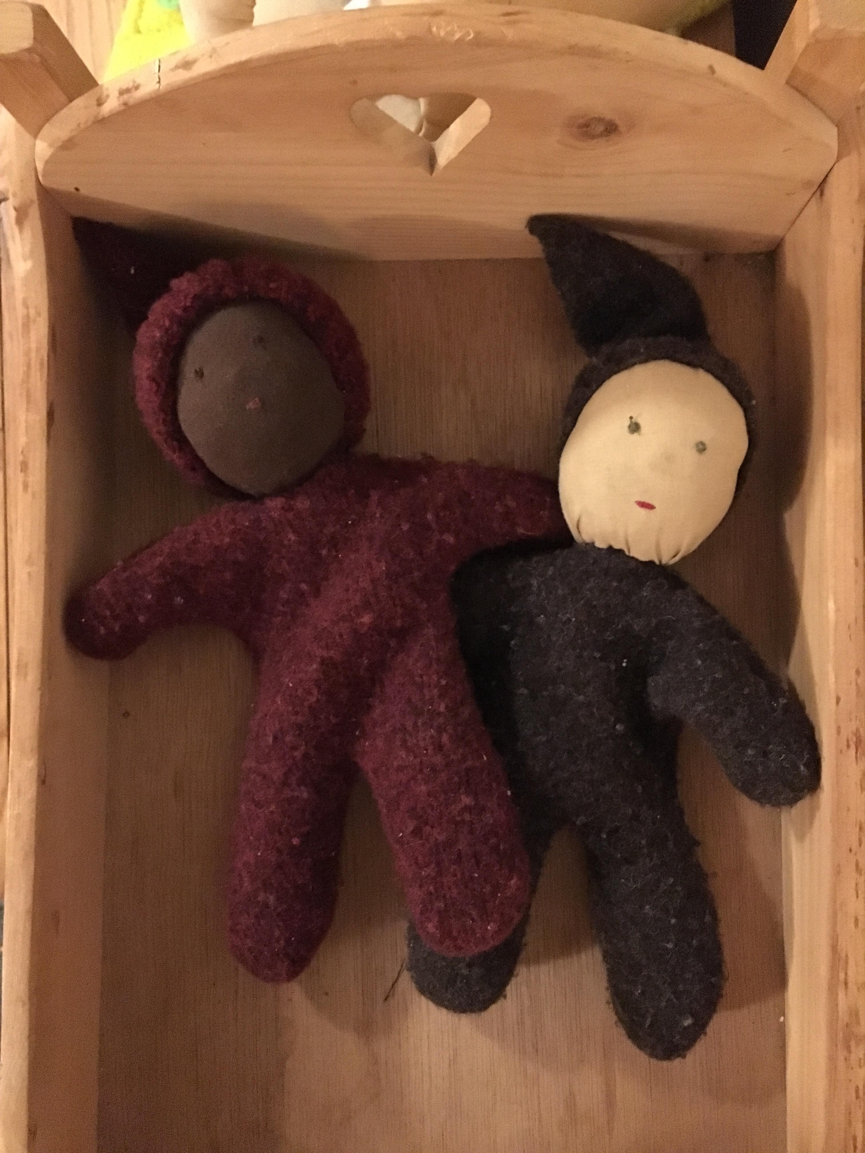 Waldorf handmade baby dolls copy
