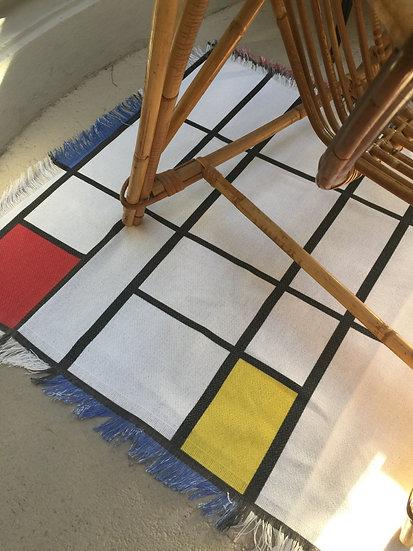 Tapis Mondrian