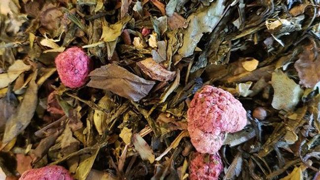 Raspberry Ginger/White Tea