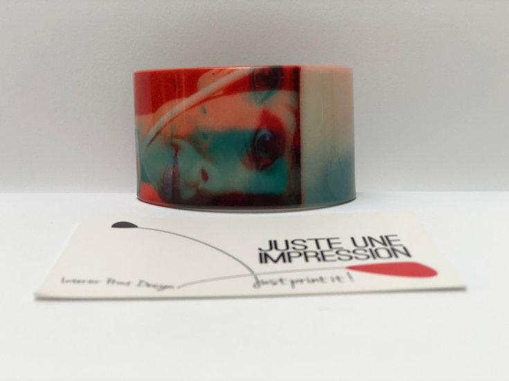 bracelet Audrey 3D orange