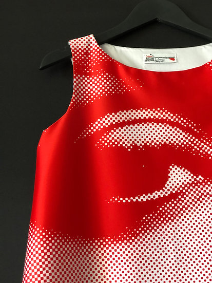 robe Uma see red / See Red Uma Thurman sixties dress