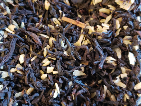 Deep Rich Amazing Black Teas....Almond Joy!!!