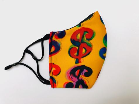masque tissu design by Juste une impression