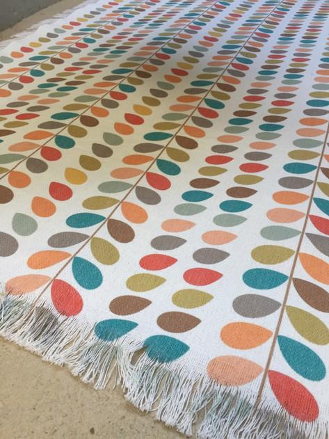 des tapis imprimés et lessivables !