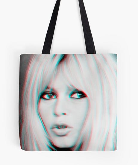 sac Brigitte Bardot 3 D effect