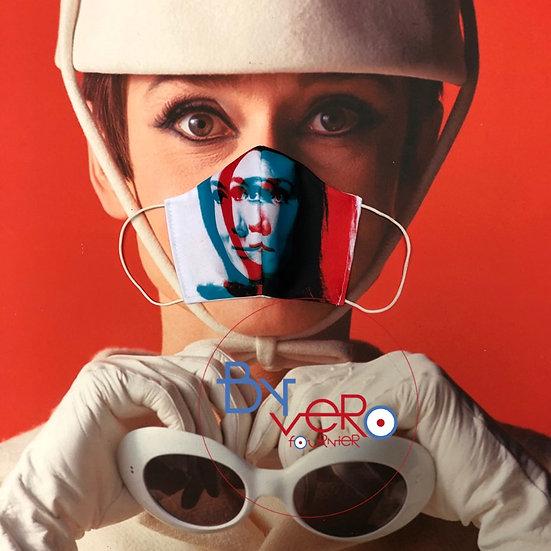 Masque unique iconique Emma Peel/Diana Rigg 3D Effect