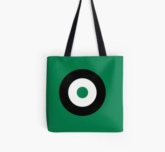 Sac Modernist Cible/Target Green/Black/White