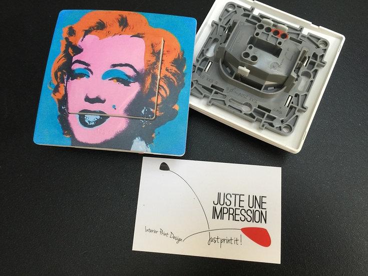Interrupteur Marilyn by Andy Warhol