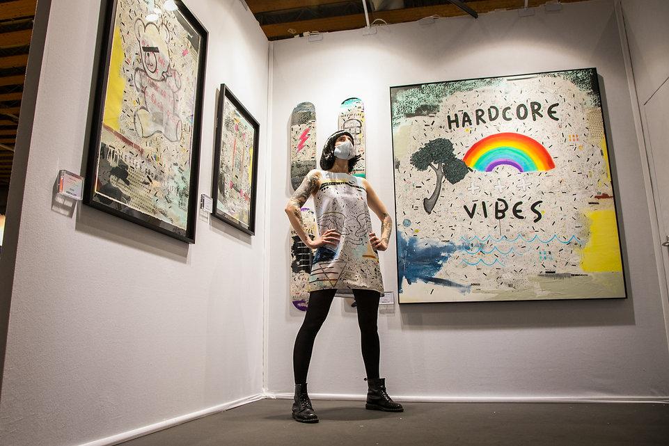 robe tableau Sébastien DOMINICI - Acid Gallery