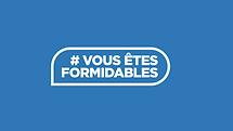 logo #vousetesformidables