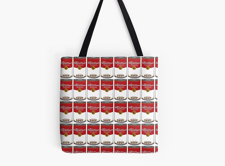 sac campbell creative soup by Juste une impression