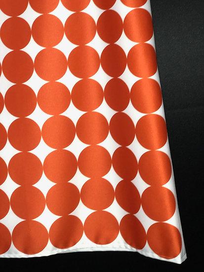 robe sixties inspiration Paco Rabanne orange / Paco Rabanne inspired orangedress