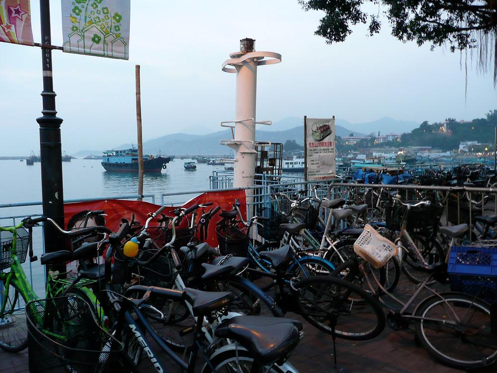 uncommon travel, sunset Cheung Chau Island
