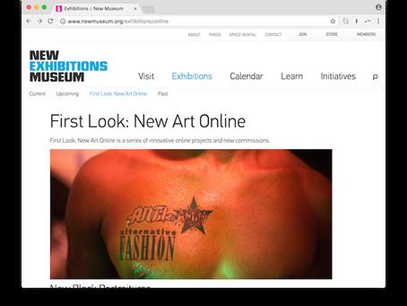 Des expositions conçues pour être vues en ligne