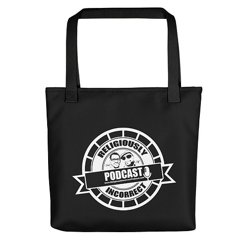 Religiously Incorrect Podcast Branded Tote bag b