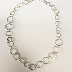 Gnarled link necklace