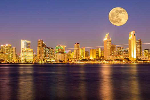 San Diego Moon