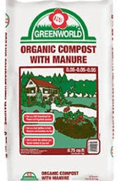 5 for $25 Greenworld Compost Mix 25lt