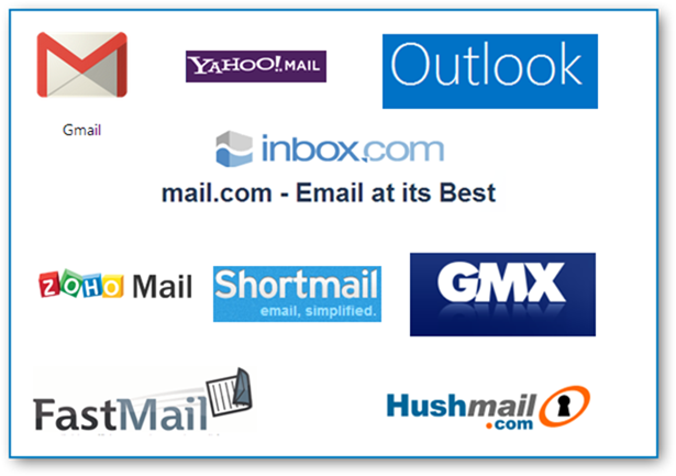 Example Email Providers