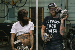 MAKERS: THREEPENCE MOTORCYCLE SHOP