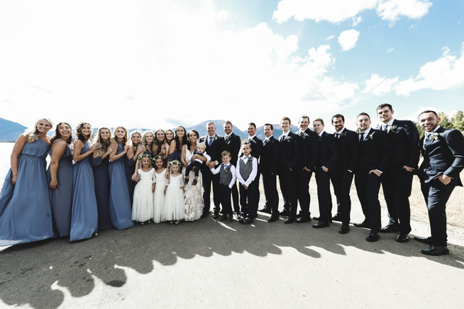 Wedding Party Mountain Colorado
