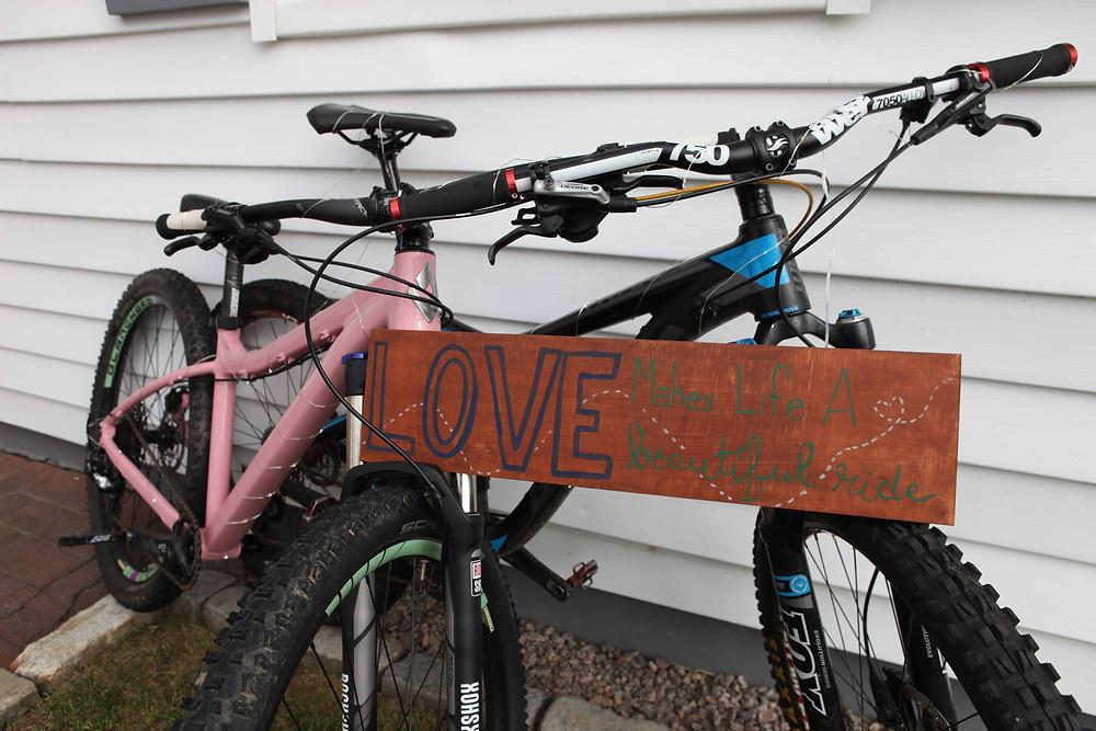 bikes, wedding, love, Colorado Wedding Planner, fairy lights, biking, rehearsal dinner