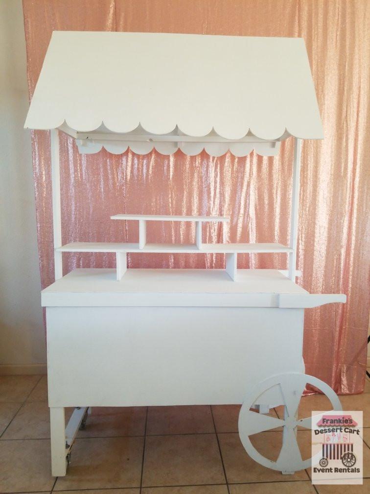 Frankie's Dessert Carts for Wedding Candy Bar