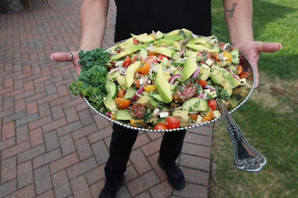 Colorado Wedding Planner, avocado salad, wedding food