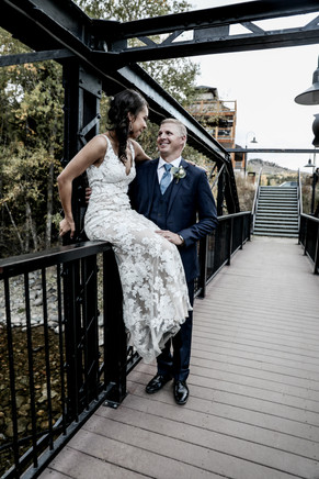 Silverthorne Pavilion Bridge Wedding