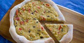 Pizza aux fruits de mer sans produits laitiers