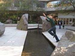 It's a jump!