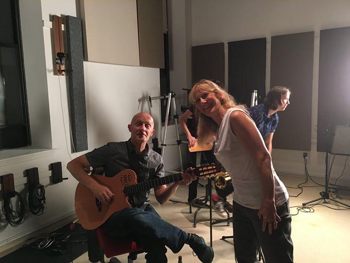 Recording at Masterdisk