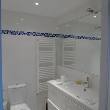 Bathroom after renovation