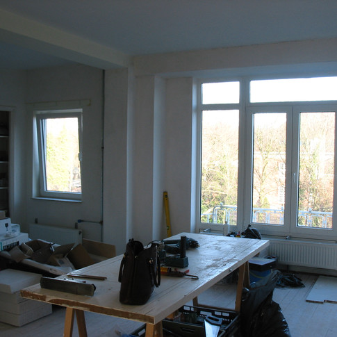 Renovation living room