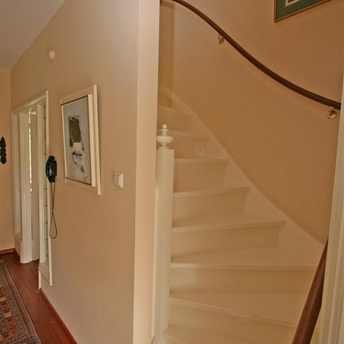 Stairs to the upper floor