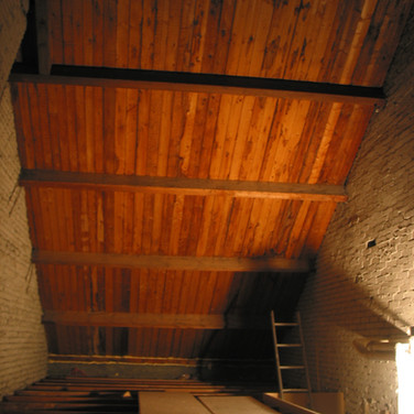 Attic main space before refurbishment