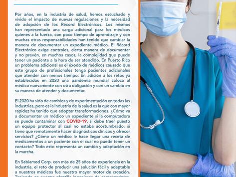 ClinNext 10 MD la herramienta clave para médicos en tiempos de pandemia