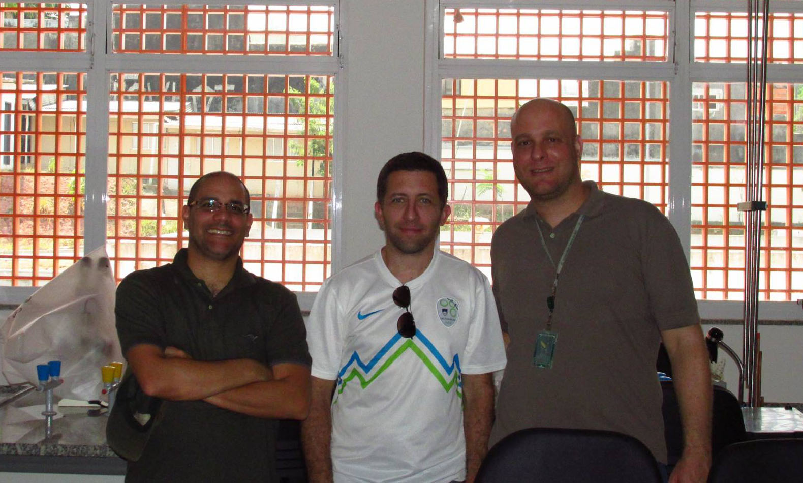 Visiting LabGel: Andre & Agustin