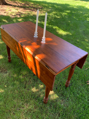 Refinished Cherry Wood Table